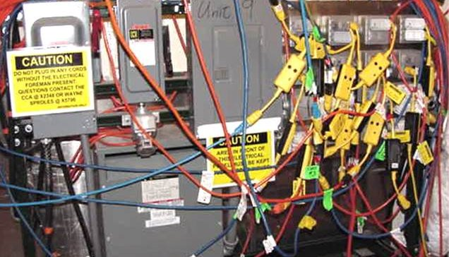 temporary power electrical services in melbourne rh greentechelectrics com au temporary wiring electrical safety